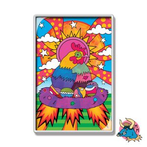 Chicken Fridge Magnet