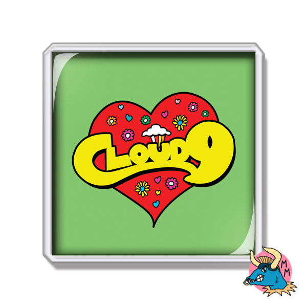 Love Heart Fridge Magnet