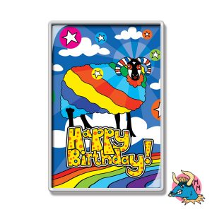 Sheep Birthday Fridge Magnet