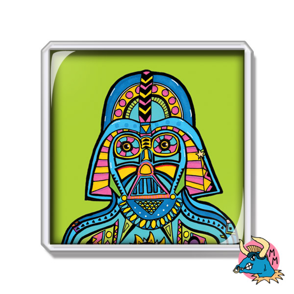 Darth Vader Fridge Magnet