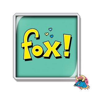 Fox Fridge Magnet