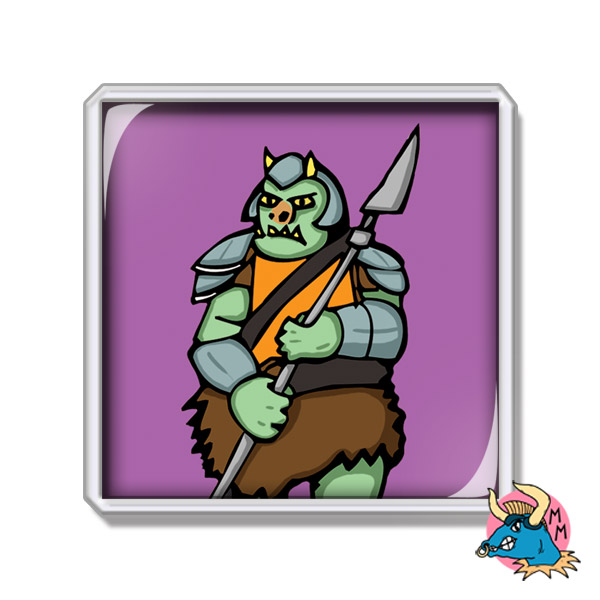 Gamorrean Guard Fridge Magnet