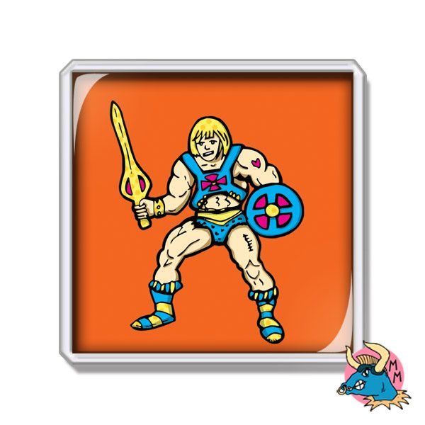 He-Man Masters of the Universe Fridge Magnet