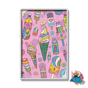 Ice Cream Fridge Magnet