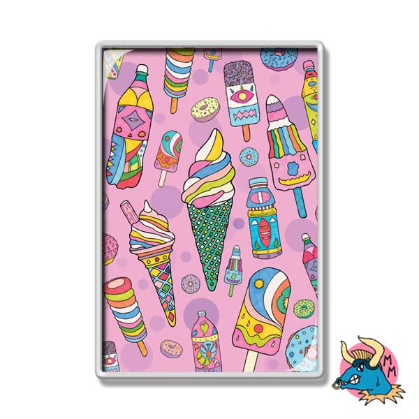 Ice Cream Fridge Magnet