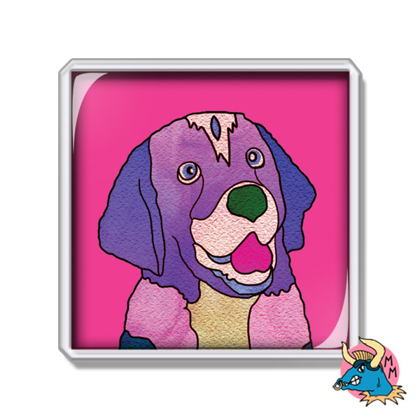 Labrador Dog Fridge Magnet