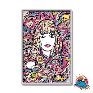 Love Girl Fridge Magnet