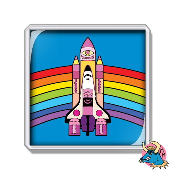 Space Shuttle Fridge Magnet
