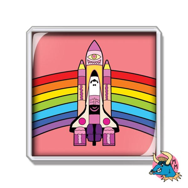 Space Shuttle Fridge Magnet