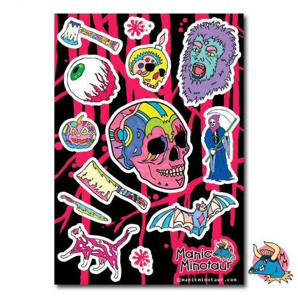 skull_sticker_sheet_by_manic_minotaur