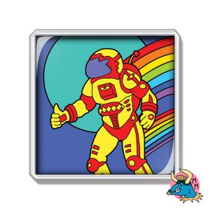 Spaceman Fridge Magnet