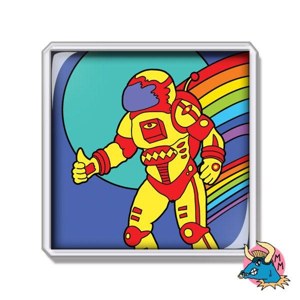 Spaceman Fridge Magnet