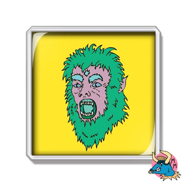 Werewolf Fridge Magnet