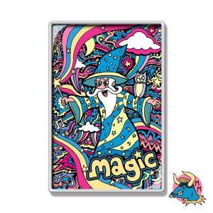 Wizard Fridge Magnet