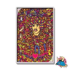 Jimi Hendrix Fridge Magnet