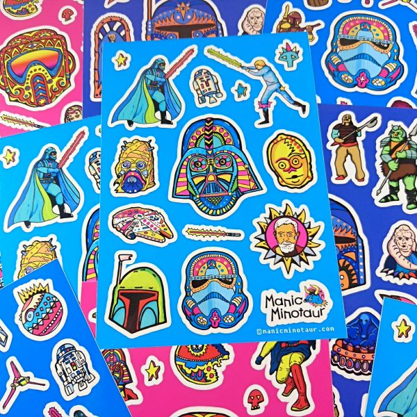 Sticker Sheets by Manic Minotaur