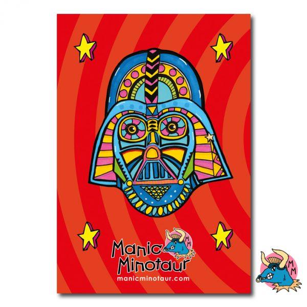 Darth Vader Sketchbook Back Cover
