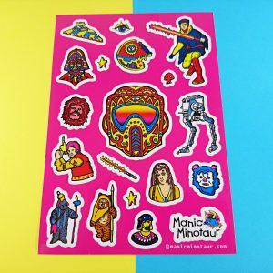 Biker Scout Star Wars Stickers
