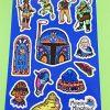 Boba Fett Star Wars Stickers