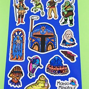 Boba Fett Star Wars Stickers