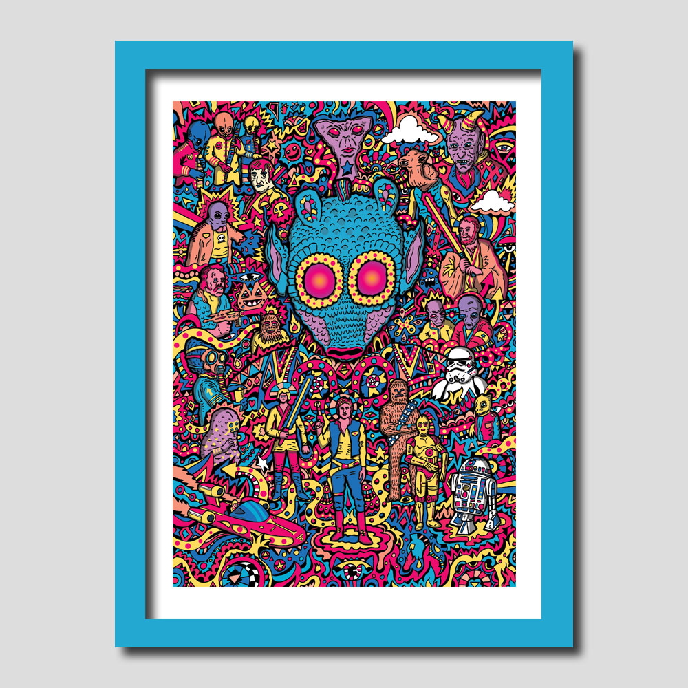 Greedo Star Wars Art Print