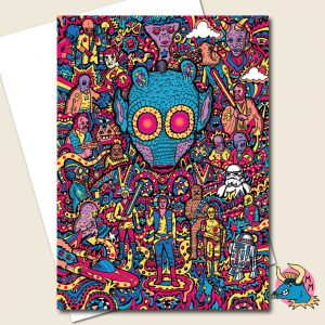 Greedo Star Wars Greeting Card