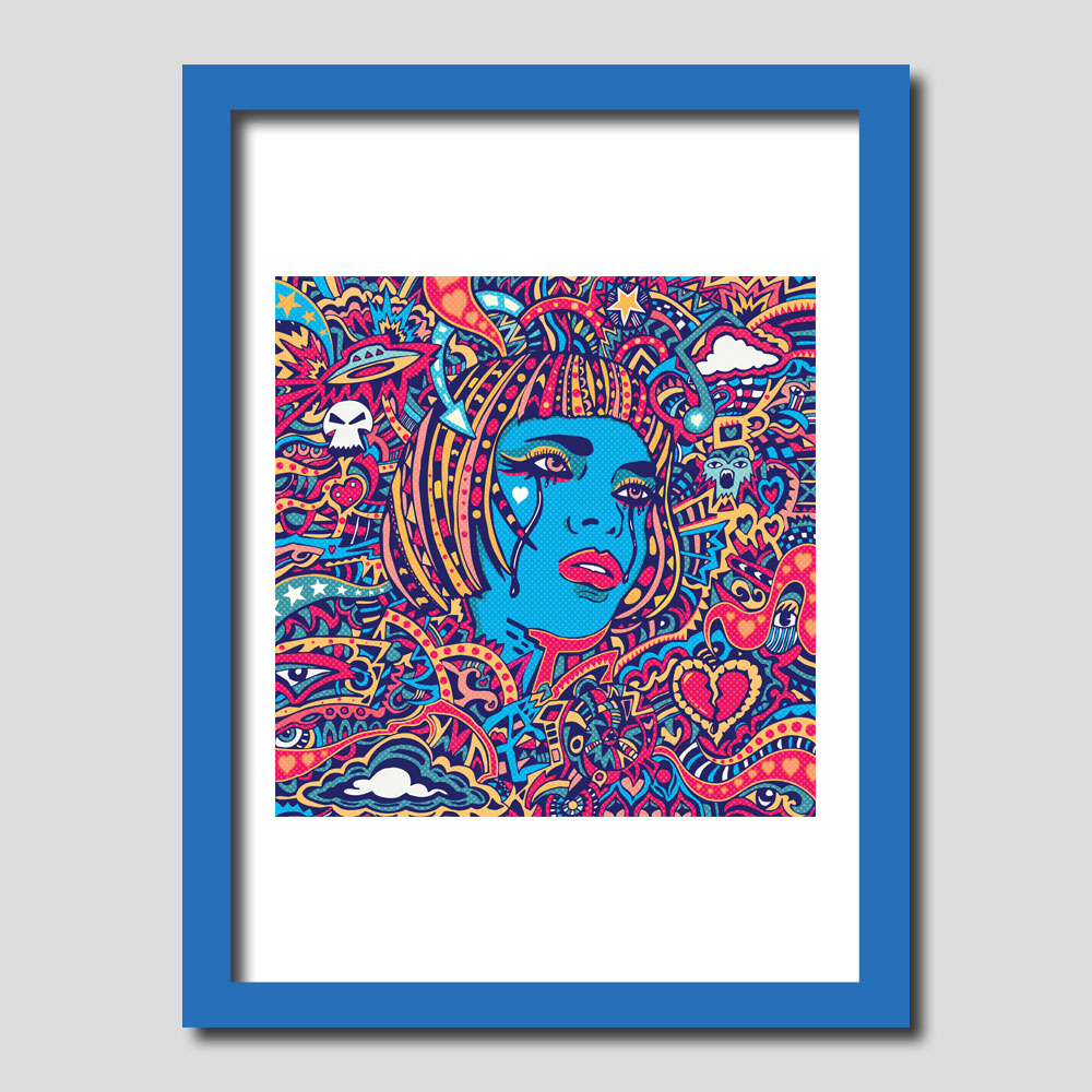 Reflections Alt Art Print