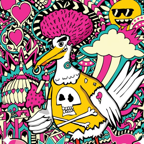 Brighton Seagull Art Print
