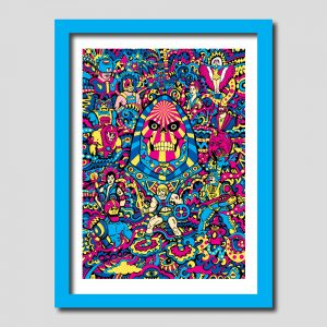 Skeletor He-Man Art Print