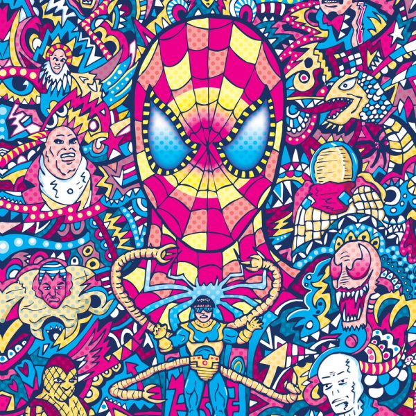 Spiderman Art Print