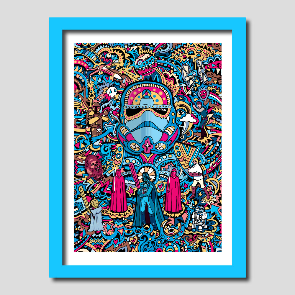 Stormtrooper Star Wars Art Print