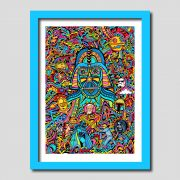 Darth Vader Star Wars Art Print