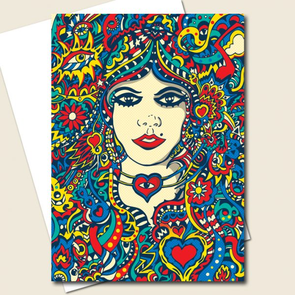 Cleopatra Greeting Card