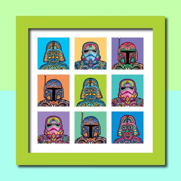 Star Pop Art Print