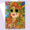 Rainbow Republic Greeting Card